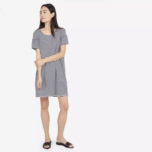 Everlane Cotton Stripe Tee Dress